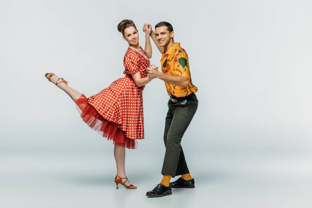 types of swing dance couple dancing