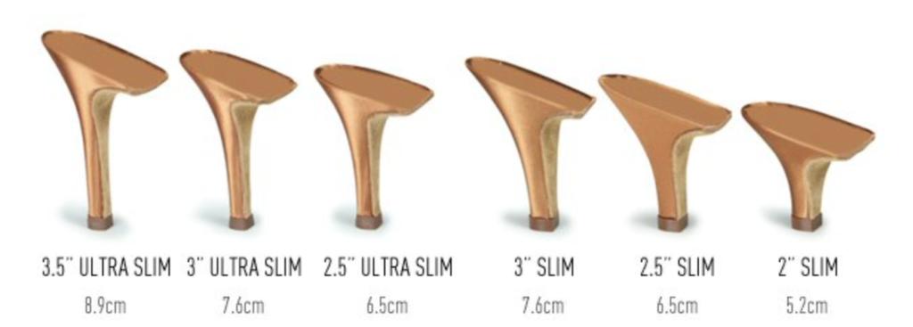 stiletto salsa heel height and style