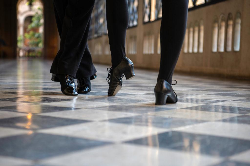ballroom practice shoes couple dance black leather shoes